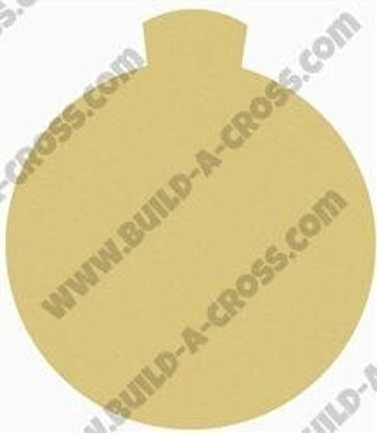 Christmas Ornament 3 Unfinished Cutout Paintable Wooden build-a-cross