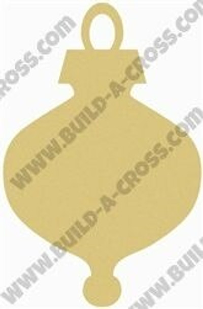 Christmas Ornament Unfinished Wooden Shape build-a-cross