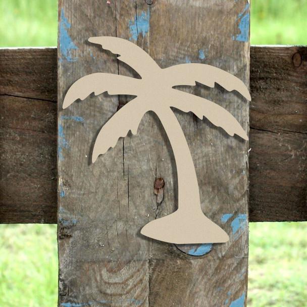 Palm Tree Unfinished Cutout