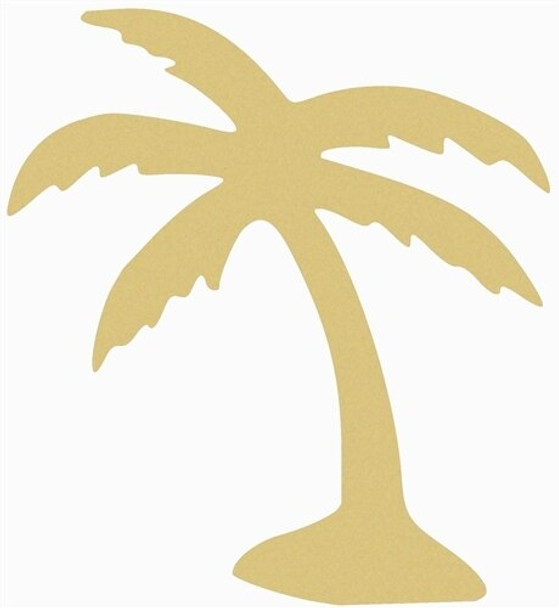 Palm Tree Unfinished Paintable MDF