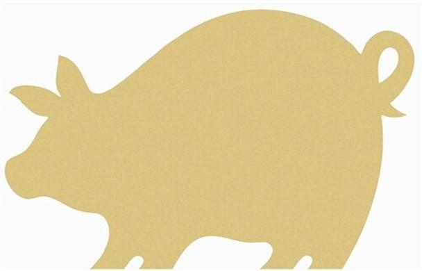 Pigglet Unfinished Cutout