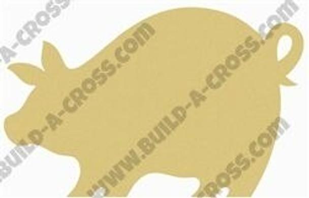 Pigglet Unfinished Cutout build-a-cross
