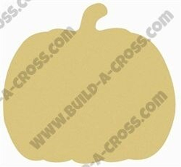 Pumpkin Unfinished Cutout Paintable Wooden MDF-build-a-cross
