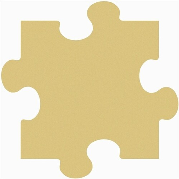Puzzle Unfinished Cutout Paintable Wooden MDF