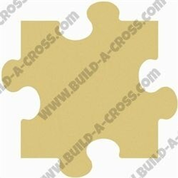 Puzzle Unfinished Cutout Paintable Wooden MDF build-a-cross