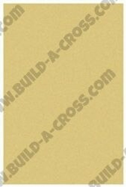 Rectangle Unfinished Cutout Paintable Wooden MDF build-a-cross