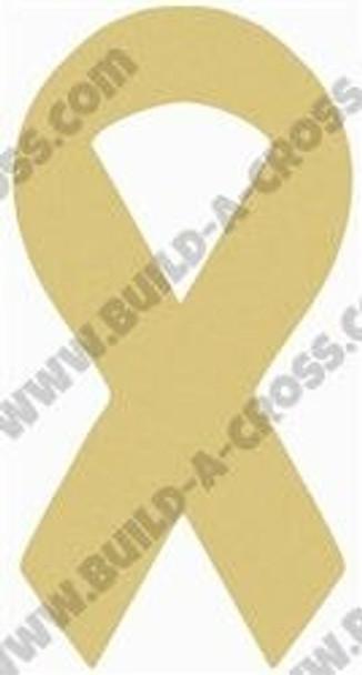 Ribbon Unfinished Cutout build-a-cross