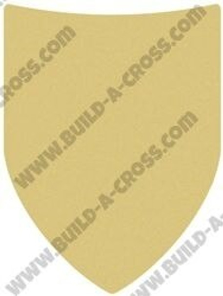 Roman Shield Unfinished Cutout build-a-cross