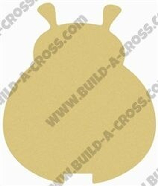 Ladybug Unfinished Cutout build-a-cross