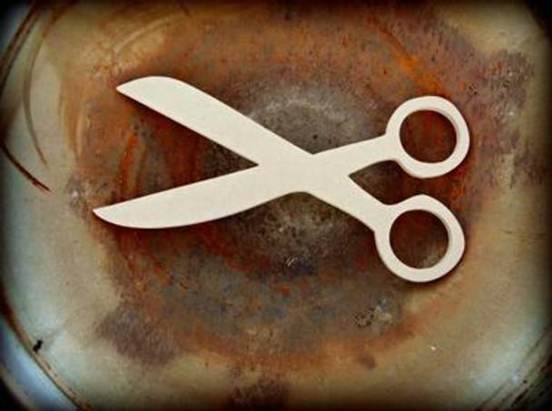 Scissors Unfinished Cutout