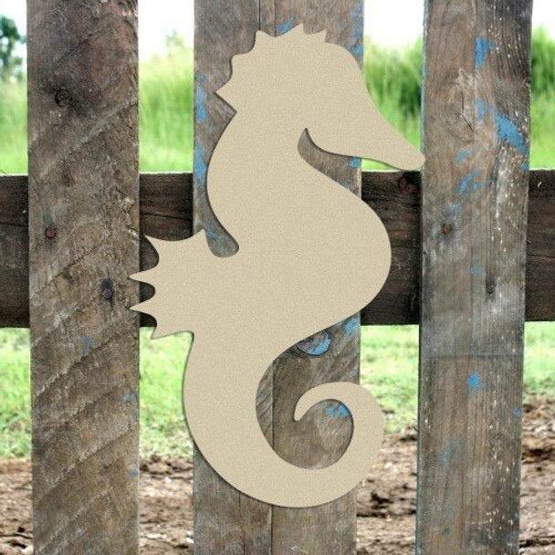 Seahorse Unfinished Wooden Cutout