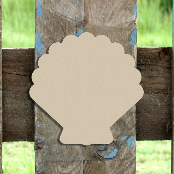 Sea Shell Unfinished Cutout Paintable Wooden MDF