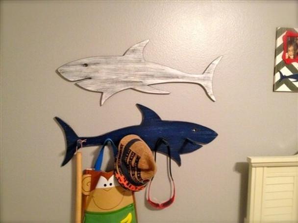 Shark Unfinished Cutout