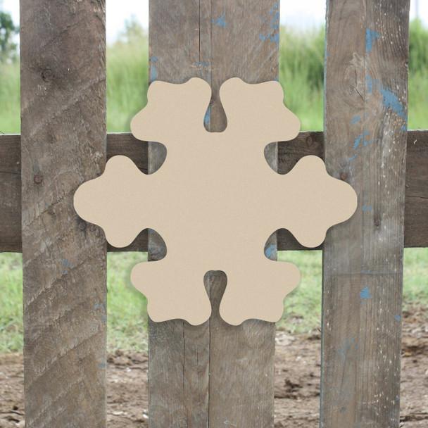 Snowflake Cutouts Unfinished