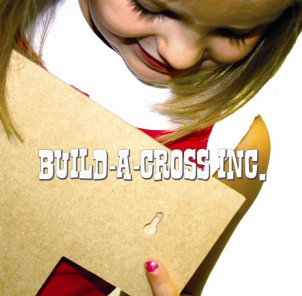 Unfinished Wooden Stacked Kit 5 Layered Crosses 9.5'' Sets Paintable Craft