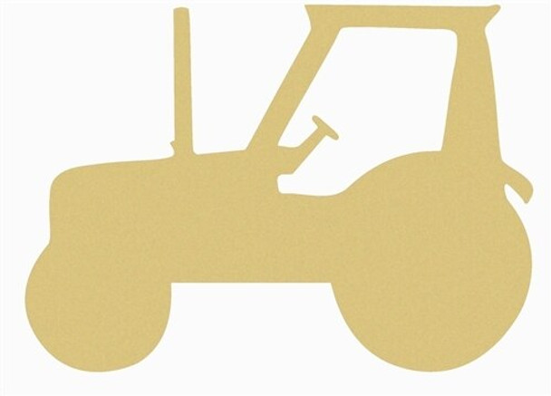 Tractor Unfinished Cutout Paintable Wooden MDF