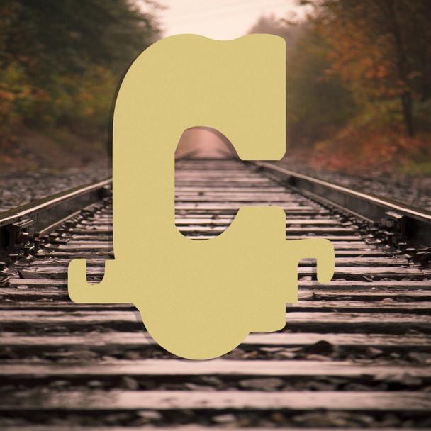 Large wood letter c are good children wooden letters alphabet.