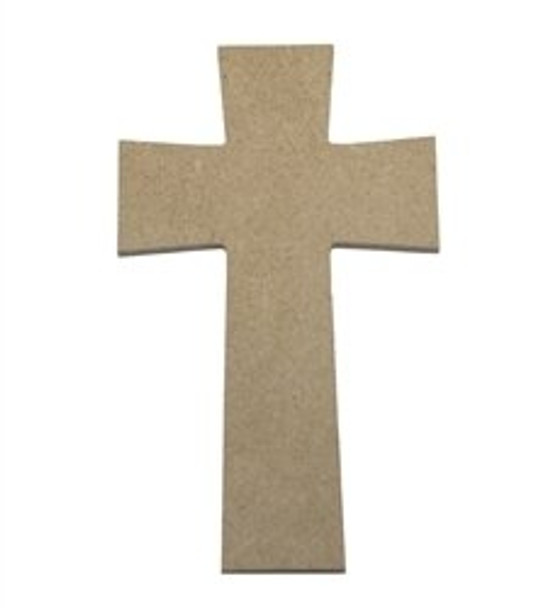 Cross 10 Unfinished Wooden Paintable