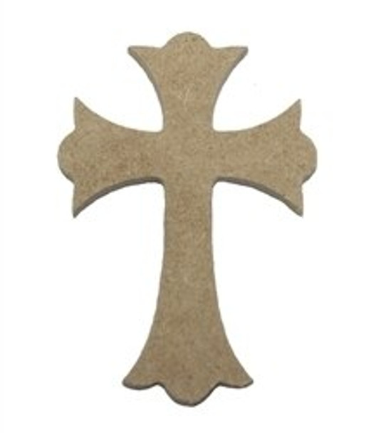 Cross 12 Unfinished Wooden Paintable