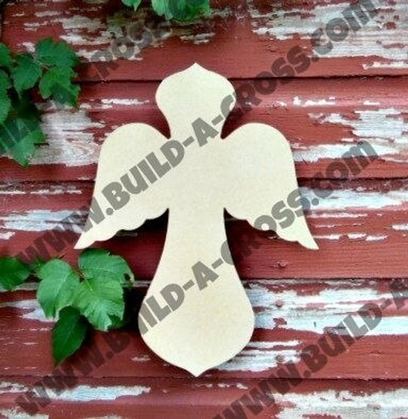 Cross 19 Unfinished Wooden Paintable build-a-cross