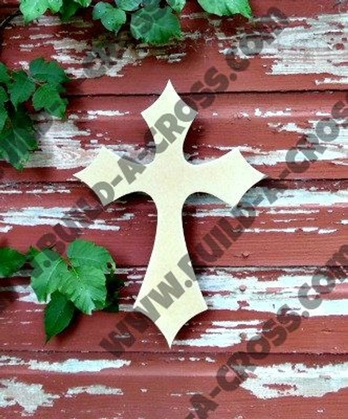 UNFINISHED WOODEN CROSS Paint-able WALL HANGING STACKABLE CROSS (39)