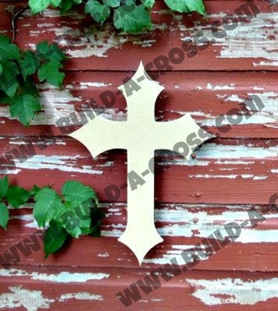 UNFINISHED WOODEN CROSS Paint-able WALL HANGING STACKABLE CROSS (40)