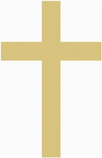 UNFINISHED WOODEN CROSS PAINTABLE WALL HANGING STACKABLE CROSS