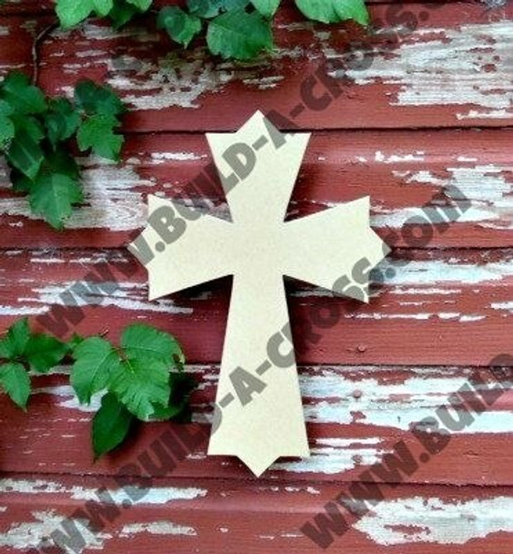 UNFINISHED WOODEN CROSS PAINTABLE build-a-cross
