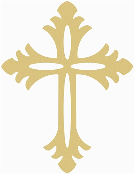 UNFINISHED WOODEN CROSS Paint-able WALL HANGING STACKABLE CROSS (54)