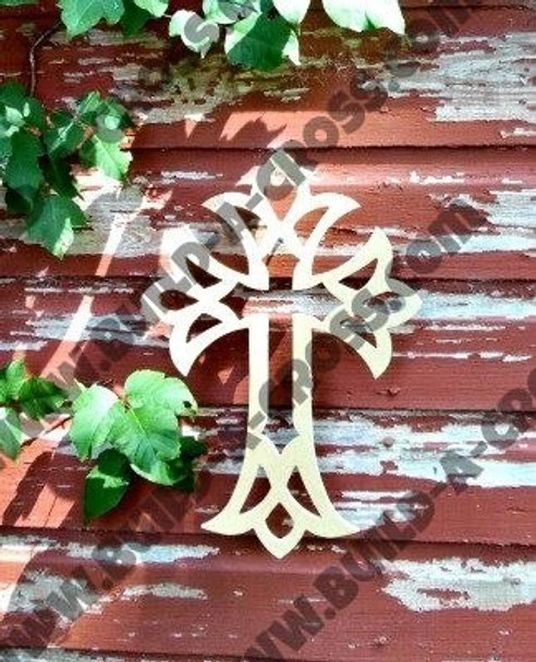 UNFINISHED WOODEN CROSS PAINTABLE STACKABLE build-a-cross