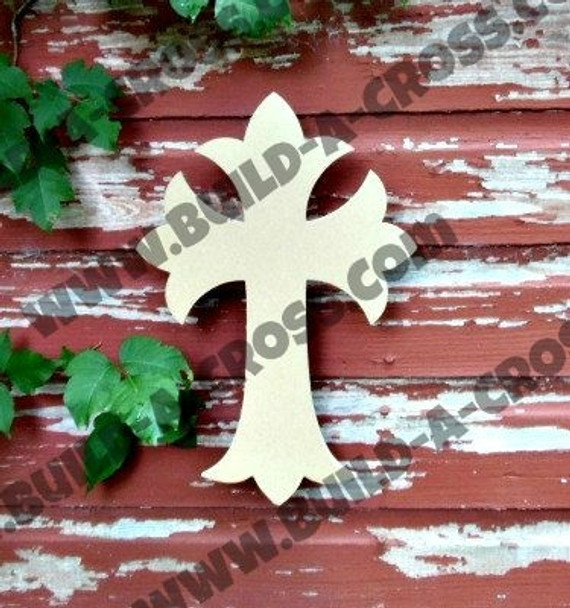 Unfinished Wooden Cross Paint-able Wall Hanging Stackable Cross 34