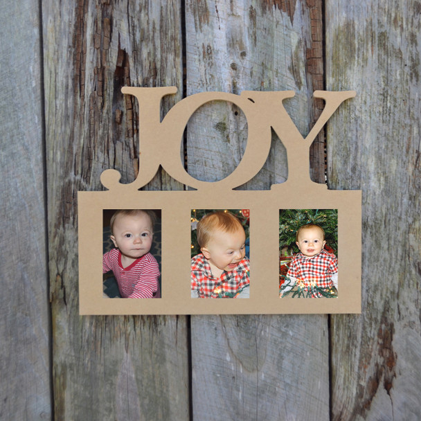 Unfinished Picture Frames Paintable Cutout Shape Joy