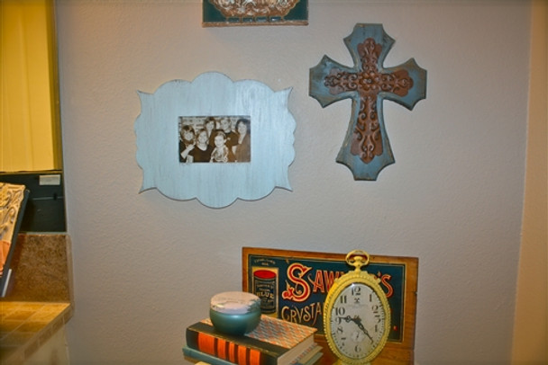 Unfinished Whimsical Picture Frame Wooden Paint-able Wood Art DIY