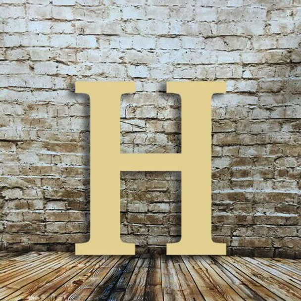 Wall wooden letters Eta are great letters made out of wood