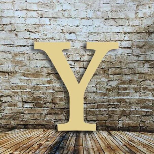 Wooden letters decor Upsilon make great decorative wooden letters