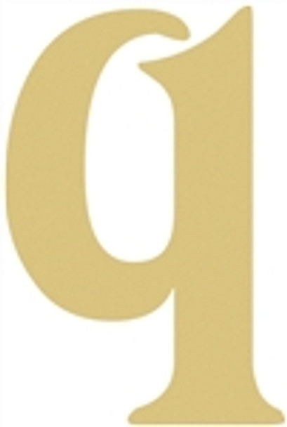 Large wood wall letters (q) is an awesome wooden letter wall art.