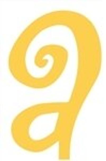 Lowercase Alphabet Curlz Letters-a