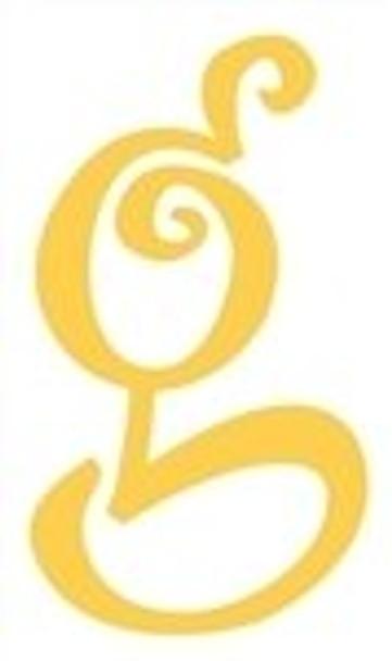 Lowercase Alphabet Curlz Letters Unpainted-g