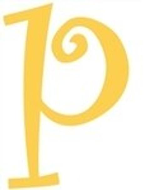 Lowercase Alphabet Curlz Letters Unpainted-p