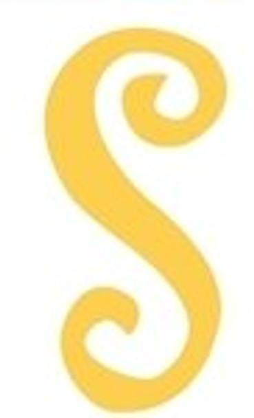 Lowercase Alphabet Curlz Letters Unpainted-s
