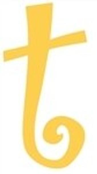 Lowercase Alphabet Curlz Letters Unpainted-t