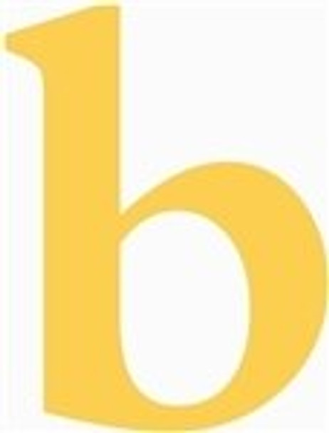 Lowercase Letters Decorative Wood Cutouts-b