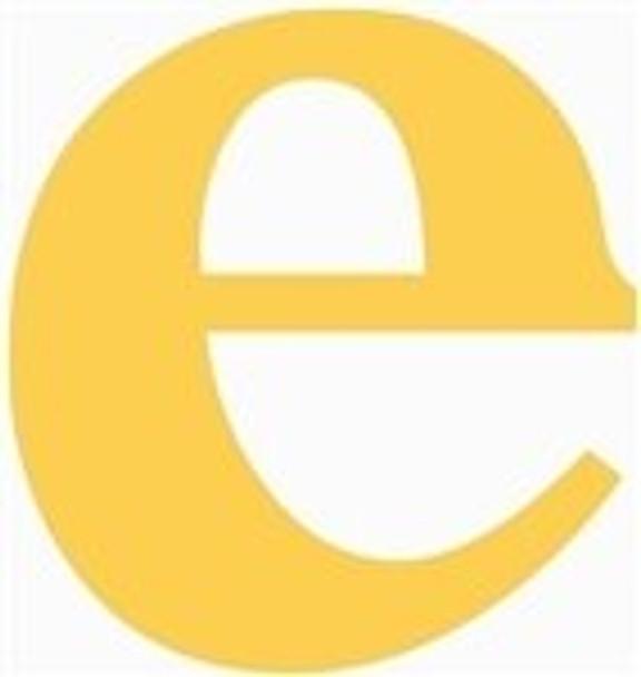 Lowercase Letters Decorative Wood Cutouts-e