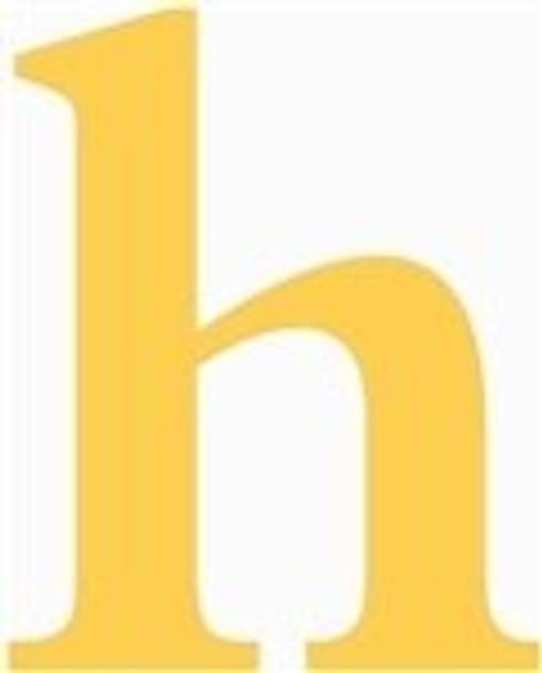 Lowercase Letters Decorative Wood Cutouts-h