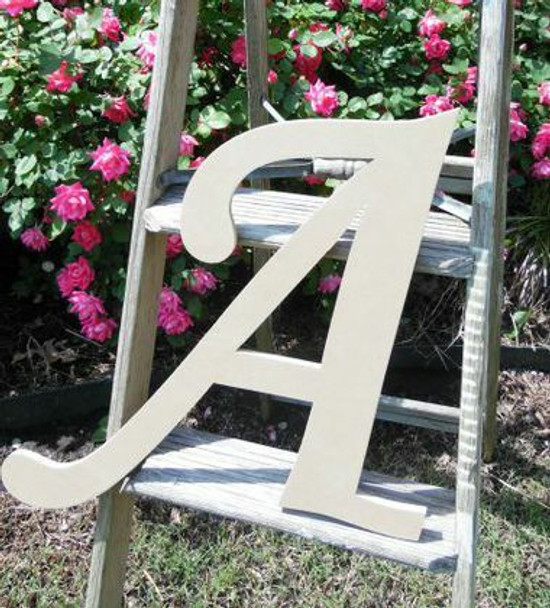 Custom Wooden Letter Wall Decor Monotype-A