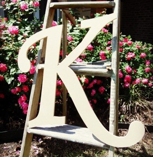 Custom Wooden Letter Wall Decor Monotype Wall Letters Unpainted Craft
