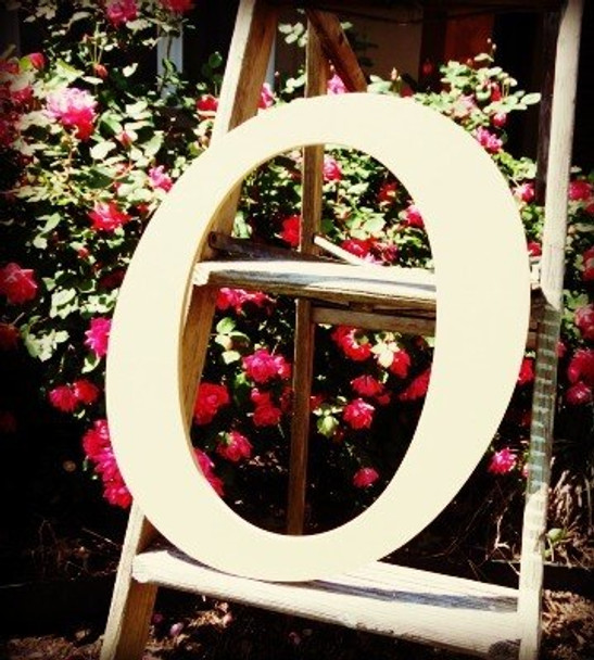 Custom Wooden Letter Wall Decor Monotype-o