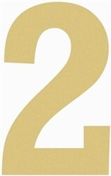 Unfinished Wooden Rockwell Numbers Paintable Cutout-2