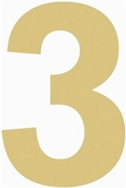 Unfinished Wooden Numbers Cutout-3