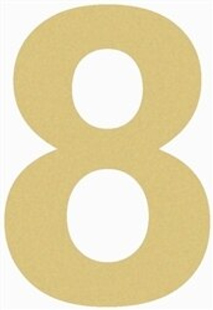 Unfinished Wooden Rockwell Numbers Paintable Cutout-8
